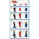 LEGO Clowns Set 321 Instructions