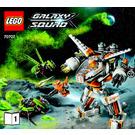 LEGO CLS-89 Eradicator Mech Set 70707 Instructions