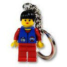 LEGO Coast Girl Key Chain (3918)