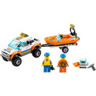 LEGO Coast Guard 4x4 & Diving Boat Set 60012
