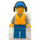 LEGO Coast Guard Crew Member with Headphones Minifigure