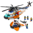LEGO Coast Guard Helicopter & Life Raft Set 7738