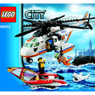 LEGO Coast Guard Helicopter Set 60013 Instructions