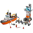 LEGO Coast Guard Patrol Boat & Tower Set 7739