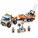 LEGO Coast Guard Truck with Speed Boat Set 7726