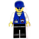 LEGO Coast Guard with Blue Glasses Minifigure