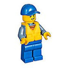 LEGO Coast Guard with Life Jacket Minifigure