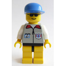 LEGO Coast Guard with Light Gray Vest with white Arms and ID-Card Minifigure