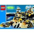 LEGO Coast Watch HQ Set 7047 Instructions