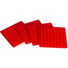 LEGO Coaster Set - Red (850421)