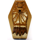 LEGO Coffin Lid with Sleeping Vampire Relief (42447)