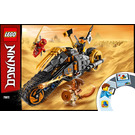 LEGO Cole's Dirt Bike Set 70672 Instructions