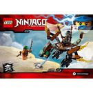 LEGO Cole's Dragon Set 70599 Instructions