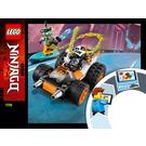 LEGO Cole's Speeder Car Set 71706 Instructions