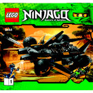 LEGO Cole's Tread Assault Set 9444 Instructions