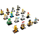 LEGO Collectable Minifigures Series 10 - Complete (except Mr. Gold) Set 71001-17