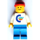 LEGO Color Line Container Lorry Driver Minifigure