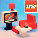 LEGO Colour TV and chair Set 274