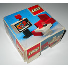 LEGO Colour TV and chair Set 274 Packaging
