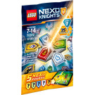 LEGO Combo NEXO Powers Wave 1 Set 70372 Packaging