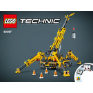 LEGO Compact Crawler Crane Set 42097 Instructions