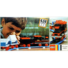 LEGO Complete Freight Train Set with Tipper Trucks 120-1