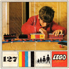 LEGO Complete Train with 3 Wagons Set 127