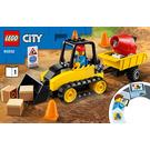 LEGO Construction Bulldozer Set 60252 Instructions