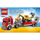 LEGO Construction Hauler Set 31005 Instructions