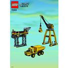 LEGO Construction Site Set 7243 Instructions