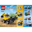LEGO Construction Vehicles Set 31041 Instructions