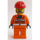 LEGO Construction Worker Minifigure