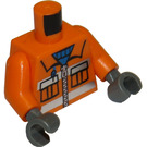 LEGO Construction Worker Minifigure Torso (76382)