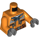 LEGO Construction Worker Torso (973 / 76382)