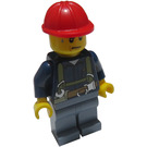 LEGO Construction Worker with Satety Straps, sweated Minifigure