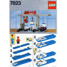 LEGO Container Crane Depot Set 7823 Instructions