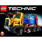 LEGO Container truck Set 42024 Instructions