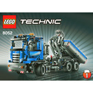 LEGO Container Truck Set 8052 Instructions
