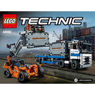 LEGO Container Yard Set 42062 Instructions