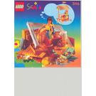 LEGO Cool Ice Cream Café Set 3116 Instructions