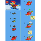LEGO Cool Santa Set 40000 Instructions