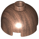 LEGO Copper Brick 2 x 2 Round with Dome Top (Safety Stud with Bottom Axle Holder x Shape   Orientation) (30367)