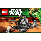 LEGO Corporate Alliance Tank Droid Set 75015 Instructions