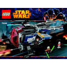 LEGO Coruscant Police Gunship Set 75046 Instructions