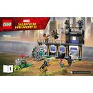 LEGO Corvus Glaive Thresher Attack Set 76103 Instructions