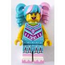 LEGO Cotton Candy Cheerleader Minifigure