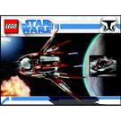 LEGO Count Dooku's Solar Sailer Set 7752 Instructions