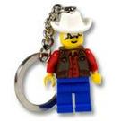 LEGO Cowboy Key Chain (3974)
