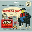 LEGO Cowboy & Pony Set 806-2