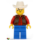 LEGO Cowboy Red Shirt Minifigure